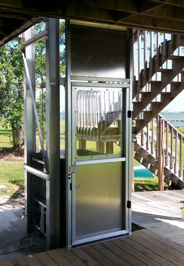 residential exterior elevators crown elevator lift company new jersey