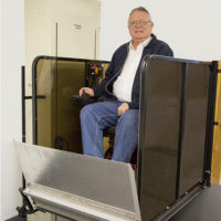 Inclinator Serenity Wheelchair Lift